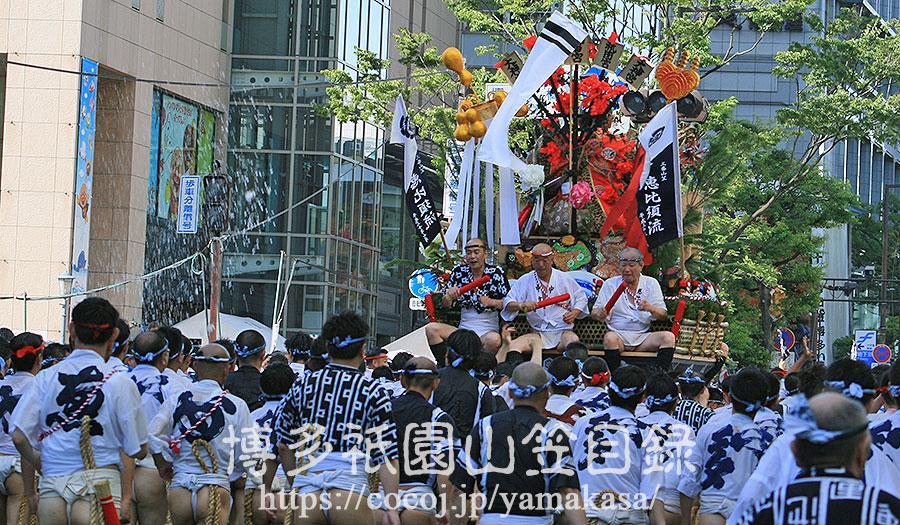 恵比須流 舁き山 2018
