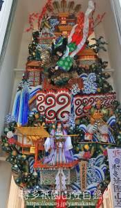 2018 櫛田神社 飾り山