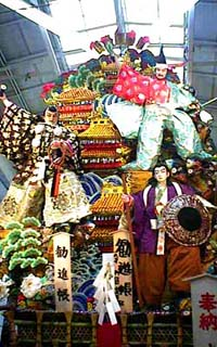 博多祇園山笠 十五番山 川端中央街 1998